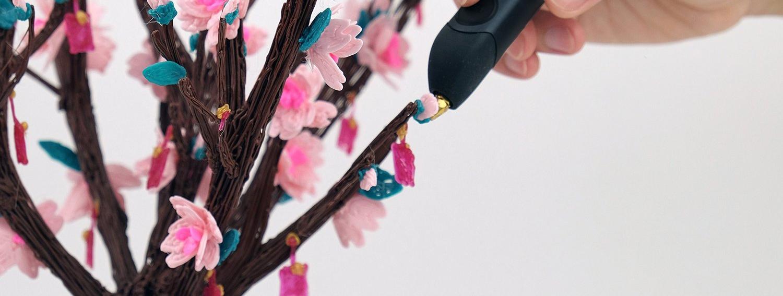 3Style 3D Printing Pen Flower Sample Print