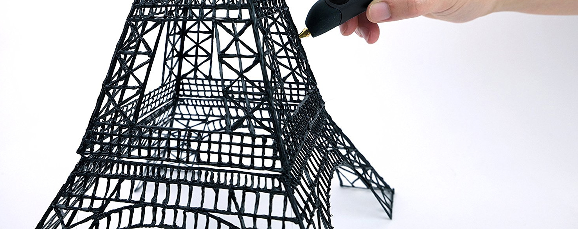 3Style 3D Printing Pen Eiffel Tower Print Sample
