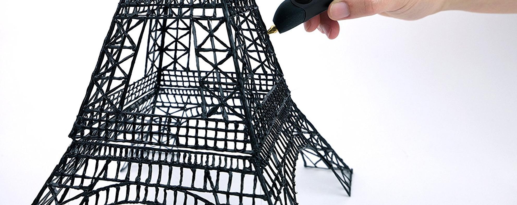 3Style 3D Printing Pen Eiffel Tower Print Sample