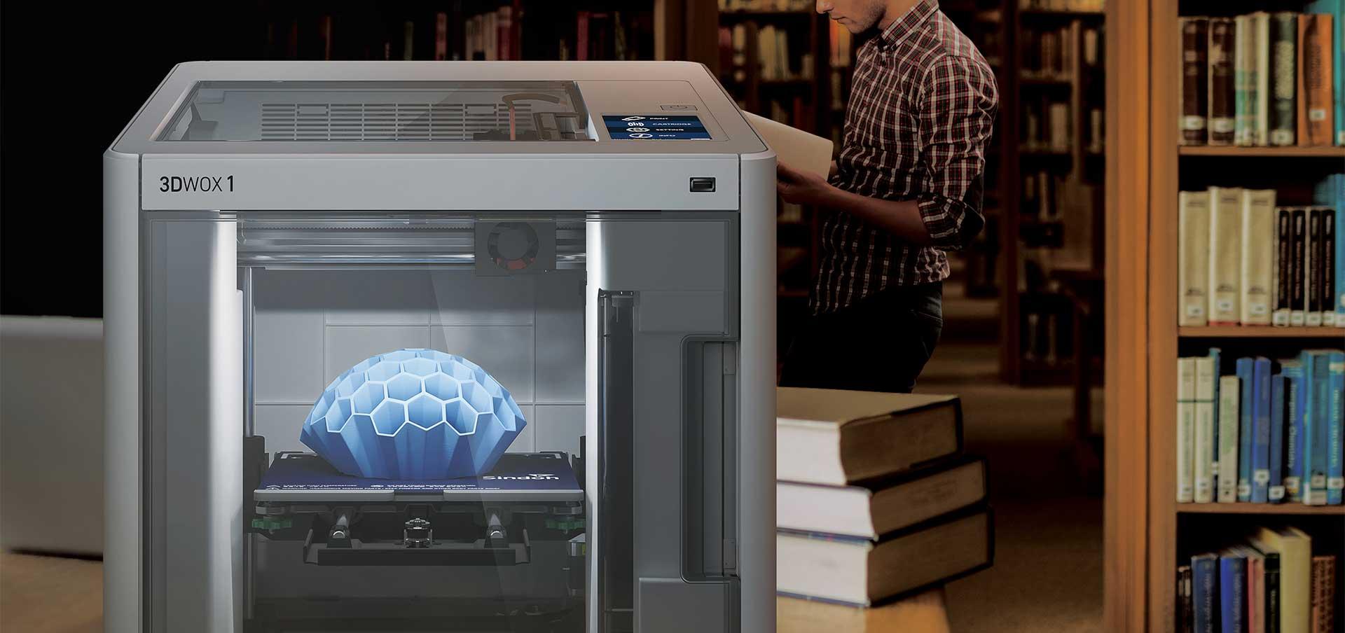 Sindoh 3DWOX 1 Quiet Printing Process
