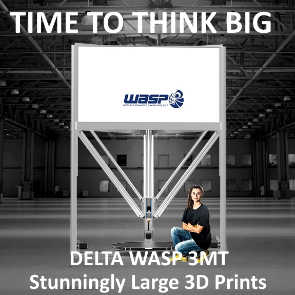 Wasp 3MT 3D Printer
