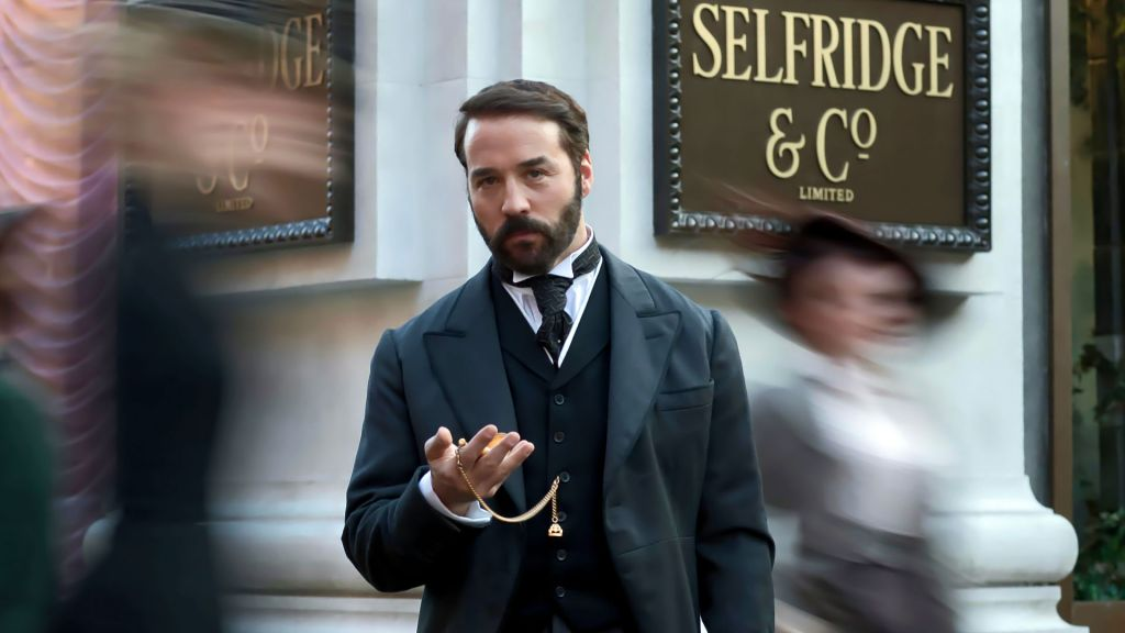 Image from PBS TV series Mr Selfridge with Jeremy Piven