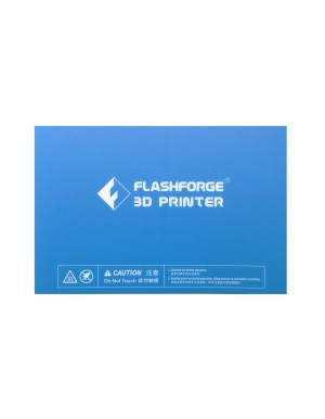 Flashforge Pre-cut Blue Heat Plate Print Tape