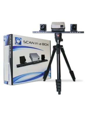 Scan in a Box with Automatic Turntable Demo Unit