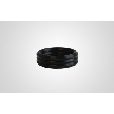 PEEK printed seal ring in black