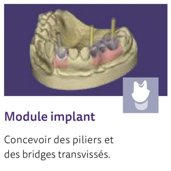 EXOCAD DentalCAD 3D Design Software Implant Module