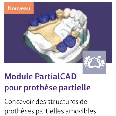 EXOCAD Software PartialCAD Module