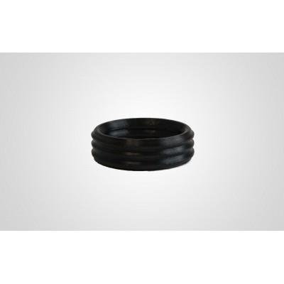 PEEK printed seal ring in black