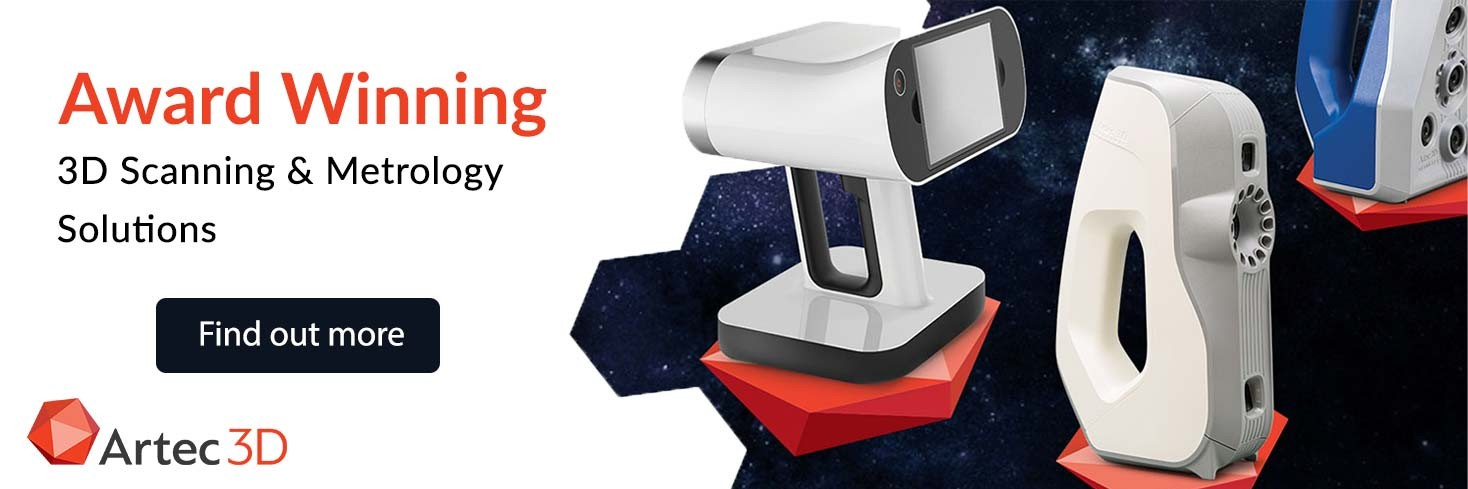 Award winning 3D scanning and metrology solutions from Artec
