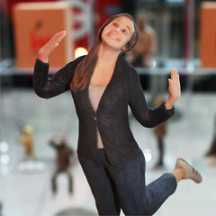 Print a full-body figurine of yourself