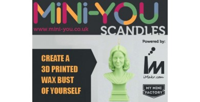 iMakr Launches Scandles - The Candle Mini-You