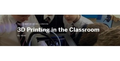 3D Printing in the Classroom Event