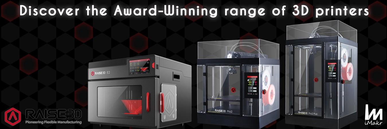 RAISE3D 3D PRINTERS