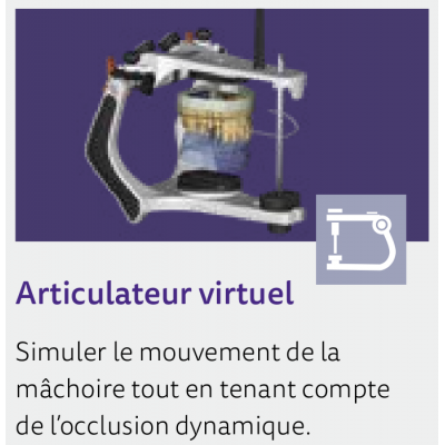 EXOCAD Software Virtual Articulator Module