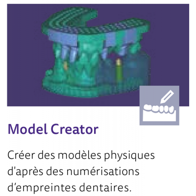 EXOCAD Software Model Creator Module