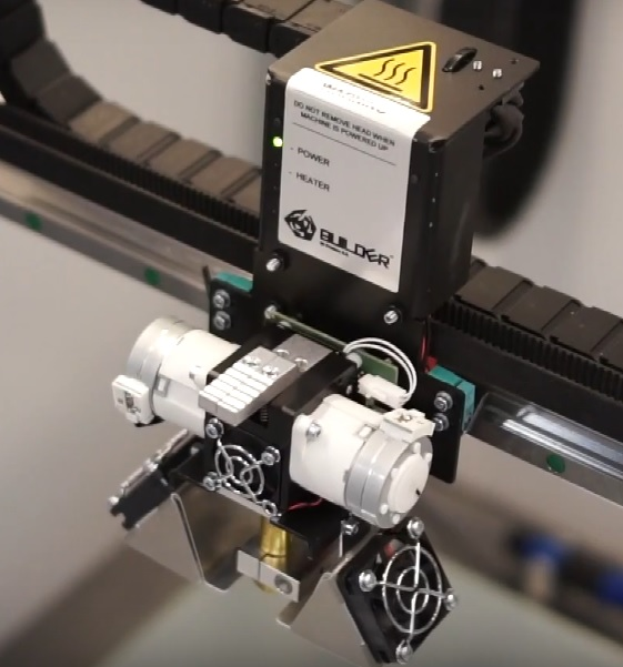 Builder Extreme Dual Feed Extruder