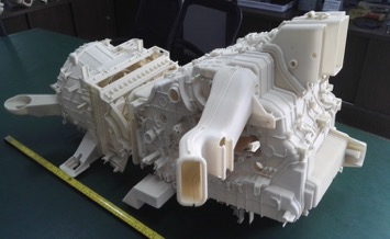 Car engine part printed on S480