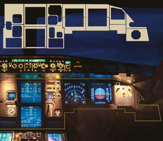 9085 in cockpit